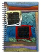 Obstructed Ocean View Spiral Notebook