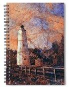 Ocracoke Island Lighthouse Spiral Notebook
