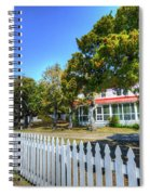 Ocracoke Lighthouse, Ocracoke Island, Nc Spiral Notebook