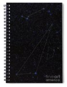 Octans, Apus, South Celestial Pole Spiral Notebook