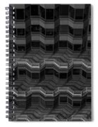 Office Building Abstract Spiral Notebook