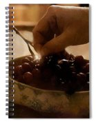 Oh Michael - Peel Me A Grape  Spiral Notebook