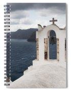 Oia Santorini 0989 Spiral Notebook