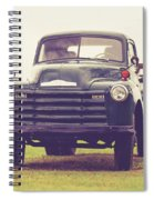 Old Chevy Farm Truck In Vermont Square Spiral Notebook