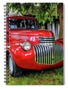 Old Chevy Truck Spiral Notebook
