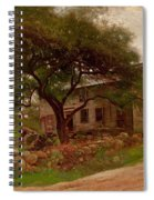 Old Farm House In The Catskills Spiral Notebook