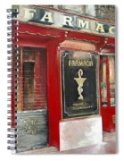 Old Pharmacy Spiral Notebook