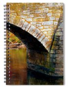 Old Stone Bridge Spiral Notebook