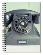 Old Telephone Square Spiral Notebook