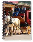 Old Tucson Stagecoach Spiral Notebook