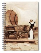 Old West Cats  Spiral Notebook