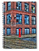 Old World Brooklyn Spiral Notebook