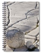 Olmstead Rock And Cracks 2 Spiral Notebook