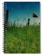 On The Breeze Spiral Notebook