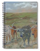 On The Chisholm Trail Spiral Notebook
