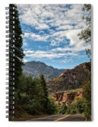 On The Road To Red Rocks  Spiral Notebook