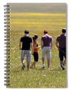 Parko Nazionale Dei Monti Sibillini, Italy 4  Spiral Notebook