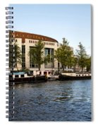 Opera House At The Waterfront Spiral Notebook