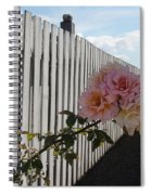 Orcas Island Rose Spiral Notebook