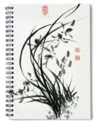 Orchid - 31 Spiral Notebook