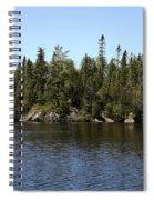 Orphan Lake, Canada Spiral Notebook