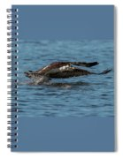 Osprey Fishing Spiral Notebook