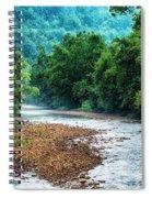 Osprey Over Elk River Spiral Notebook