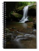 Otter Falls - Seven Devils, North Carolina Spiral Notebook