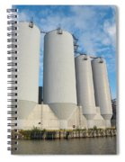 Oulu From The Sea 5 Spiral Notebook