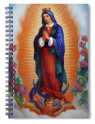 Our Lady Of Guadalupe - Virgen De Guadalupe Spiral Notebook