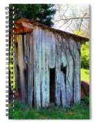 Outhouse Spiral Notebook