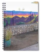 Outside Mural Spiral Notebook