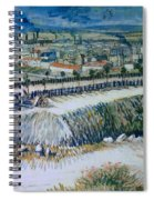 Outskirts Of Paris Spiral Notebook