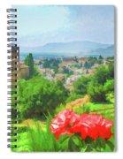 Overlooking Granada Spiral Notebook