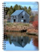 Owls Head Barn Spiral Notebook