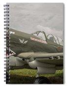 P - 40 Warhawk Spiral Notebook