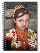 Pakistani Girl Spiral Notebook