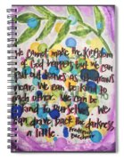 Palm Sunday Spiral Notebook