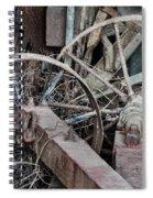 Palouse Farm Wheels 3156 Spiral Notebook
