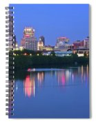 Panoramic Indianapolis Spiral Notebook