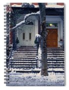 Panoramic View Of Historic Homes Spiral Notebook
