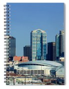 Panoramic View Of Nashville, Tennessee Spiral Notebook