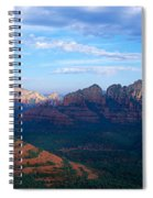 Panoramic View, Sedona, Arizona Spiral Notebook