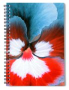 Pansy Power 86 Spiral Notebook