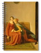 Paolo And Francesca Spiral Notebook