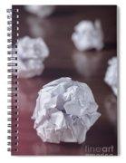 Paper Balls Spiral Notebook