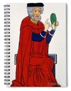 Paracelsus, Swiss Doctor And Alchemist Spiral Notebook