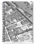 Paris 1730 Spiral Notebook