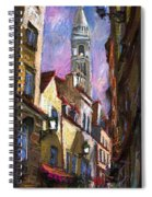 Paris Montmartre  Spiral Notebook