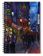 Paris Quartier Latin 01 Spiral Notebook
